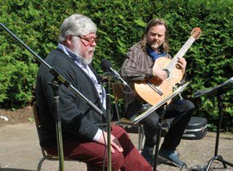 Peter Harryson och Bengt Magnusson. Fotograf: Göran Sjöberg