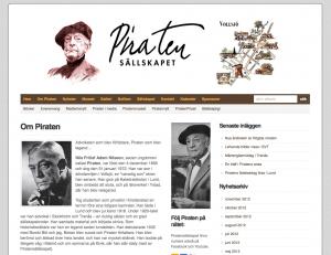 Nya webbsidan