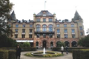 Grand Hotel, där festen hålls. Fotograf: Tommy Svensson